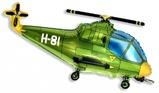 """Фигура """"Вертолет зеленый"""""""