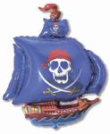 """""""Пиратский корабль"""" (синий) - Шардеко"""