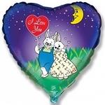 """""""Я люблю тебя"""" (влюбленные зайчата) - Шардеко"""