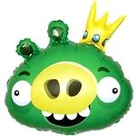 """Фигура из шаров """"Энгри Бердс"""" (Король свиней) - Шардеко"""
