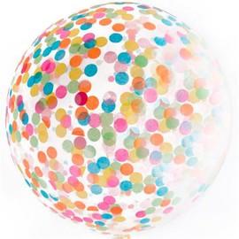Большой шар «Конфетти» (ассорти) - купить в Москве с доставкой  - Шардеко