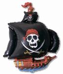 """""""Пиратский корабль"""" (черный) - Шардеко"""