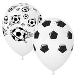 Шары под потолок Футбольный мяч (черно-белый) - Шардеко
