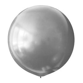 Большой шар «Серебро» - купить в Москве с доставкой  - Шардеко