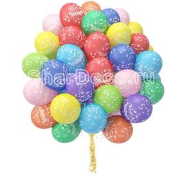 """Облако из шаров """"Поздравляем""""  - Шардеко"""
