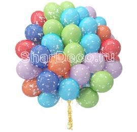 """Облако из шаров """"С рождением мальчика""""  - купить в Москве с доставкой  - Шардеко"""