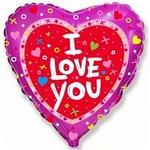 """""""Я люблю тебя"""" (сердечки) - Шардеко"""