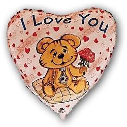 """""""Я люблю тебя"""" (влюбленный мишка) - купить в Москве с доставкой  - Шардеко"""