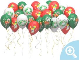 """Шары под потолок """"Новый год"""" - купить в Москве с доставкой  - Шардеко"""