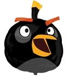 """Фигура из шаров """"Энгри Бердс"""" (черная) - Шардеко"""