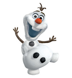 "Снеговик ""Олаф"" (холодное сердце) - Шардеко"