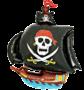 """Облако из шаров """"Пираты"""""""
