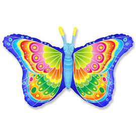 Фигура из шаров Бабочка (радужная) - купить в Москве с доставкой  - Шардеко