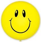 Большой шар «Смайл» (желтый) - Шардеко