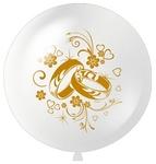 """Большой шар """"Свадебные кольца"""" - Шардеко"""
