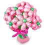 """Букет из шаров """"Розовые ромашки"""""""