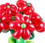 """Букет из шаров """"Красные ромашки"""""""