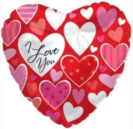 """Я люблю тебя"" (разные сердечки) - Шардеко"