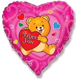 """""""Влюбленный счастливый медведь"""" - Шардеко"""