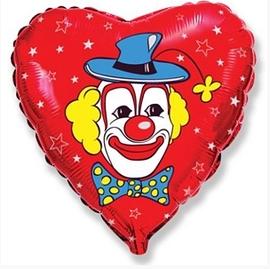 """""""Клоун (сердце)"""" - купить в Москве с доставкой  - Шардеко"""