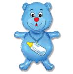 """Мишка голубой"" - Шардеко"