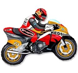 """Фигура """"Мотоцикл оранжевый"""" - купить в Москве с доставкой  - Шардеко"""