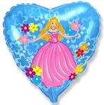 """Принцесса ( голуб. сердце)"" - Шардеко"