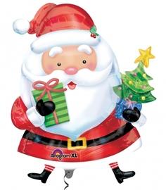 """Фигура из шаров """"Дед мороз с елочкой"""" - Шардеко"""