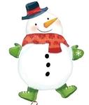 """Фигура из шаров """"Снеговик"""" - Шардеко"""