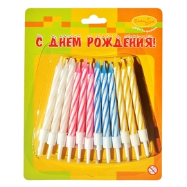 Свечи-мини 2-х цветные 24 шт - купить в Москве с доставкой  - Шардеко