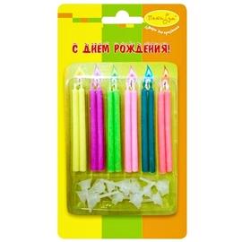 Свечи С цветным пламенем 12 шт - купить в Москве с доставкой  - Шардеко