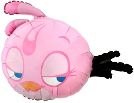 """Фигура из шаров """"Энгри Бердс"""" (розовая) - купить в Москве с доставкой  - Шардеко"""