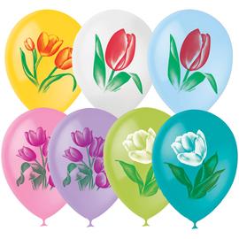 """Шары под потолок """"Цветы тюльпаны"""" - купить в Москве с доставкой  - Шардеко"""