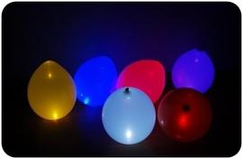 """Заказать """"Ассорти"""" (светящиеся гелевые шары на пол) -  купить дешево надувные шарики с гелием с доставкой, Москва - Шардеко"""